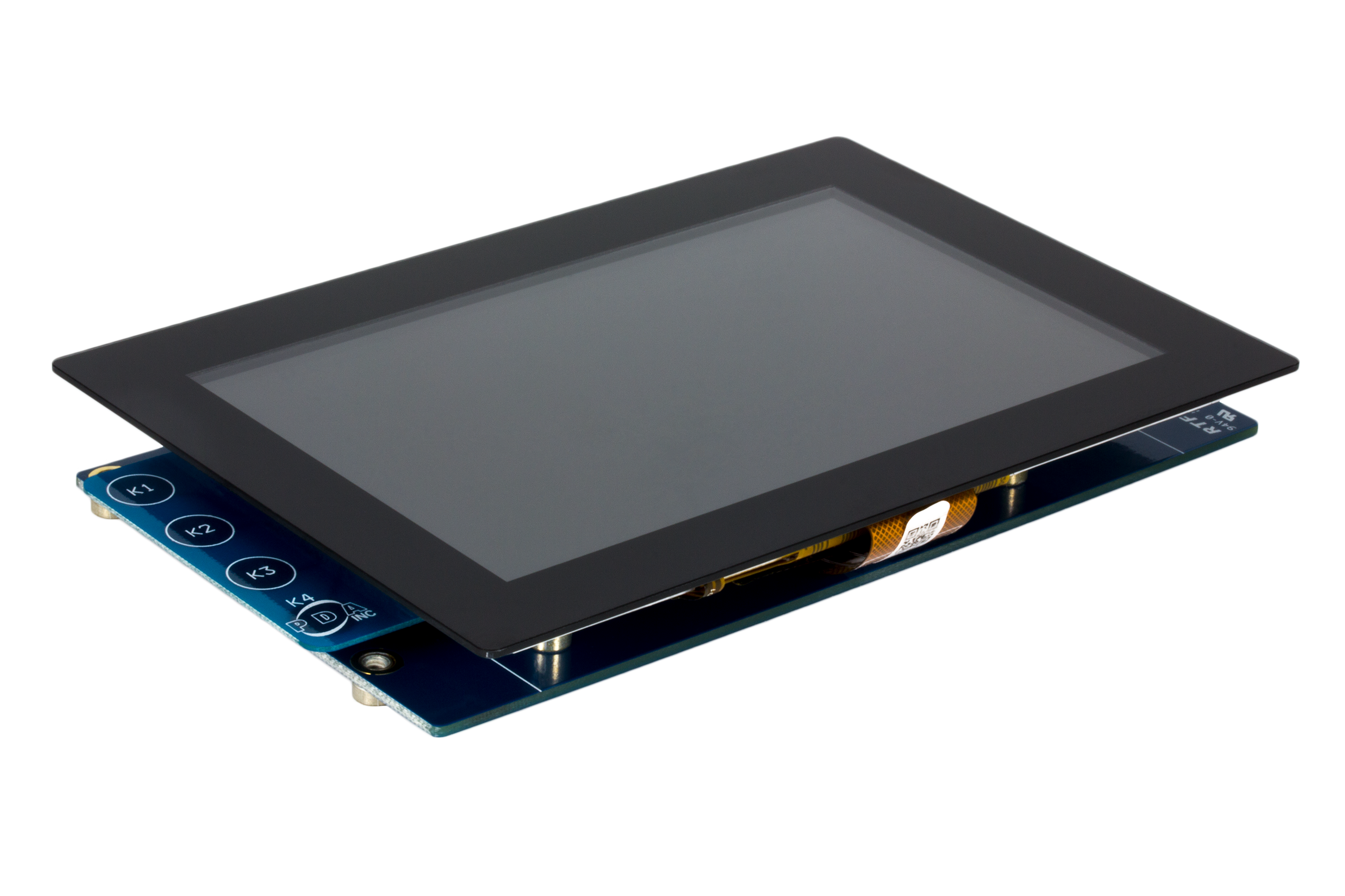 High-Performance WVGA LCD Display Module with maXTouch® Technology