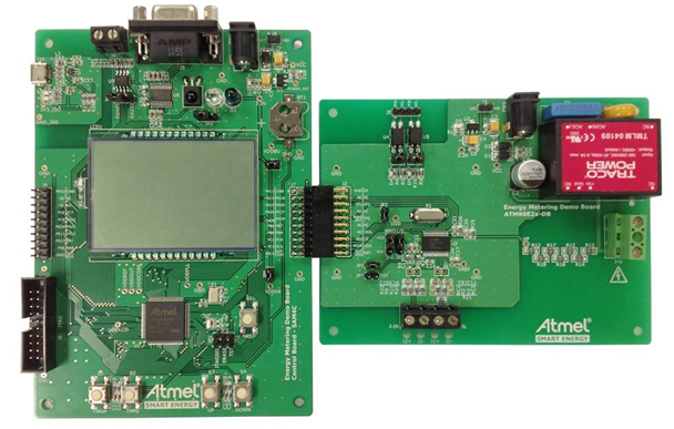 ATM90E26 Single-Phase Energy Metering Demo Board