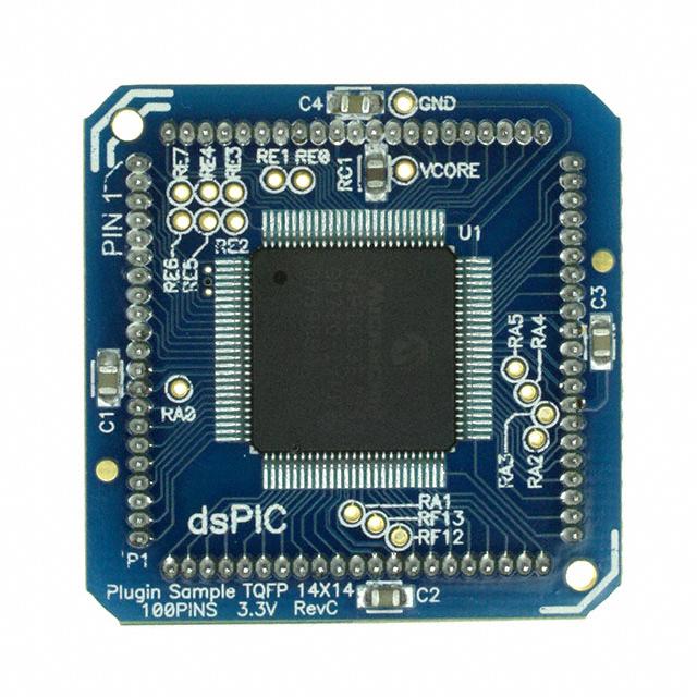 dsPIC33FJ 100 Pin PIM (84 Pin QFP)