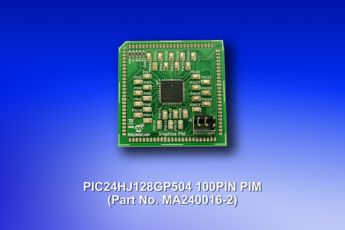 PIC24HJ128GP504 Plug-In-Module