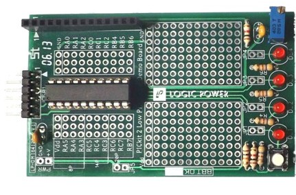 PICkit Low Pin Count Demo Board (PIC16F690)