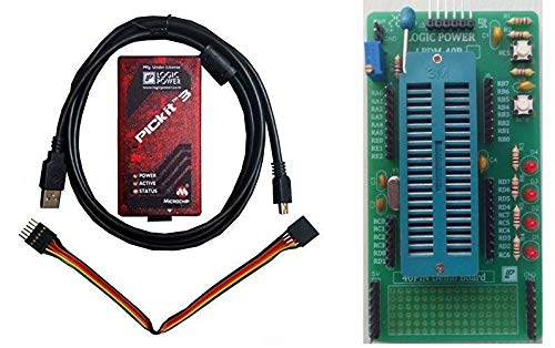 PICKIT 3 Programmer/Debugger with 40 Pin Demo Board